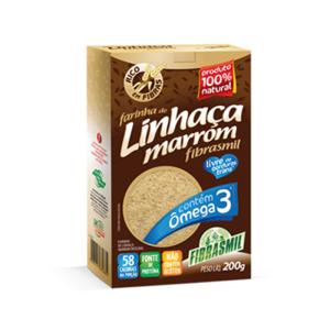 FARINHA DE LINHAÇA MARROM