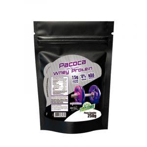 Paçoca em pó zero açúcar com Whey Protein