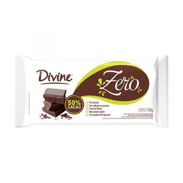 CHOCOLATE ZERO 50% CACAU
