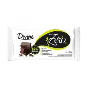 CHOCOLATE ZERO 80% CACAU
