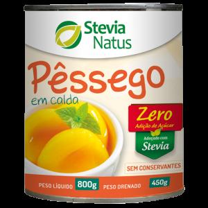 PÊSSEGO EM CALDA STEVIA