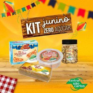 Kit junino Zero Açúcar Fibrasmil