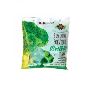 Biscoito de Polvilho com Brócolis