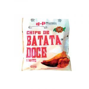 Chips de Batata Doce Assados 50g